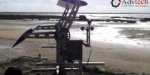 Mise au point par Arnaud Curutchet, l'éolienne épicycloïdale d'Adv Tech lors des premiers tests en situation