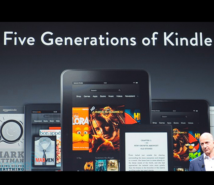 Kindle 5 generations