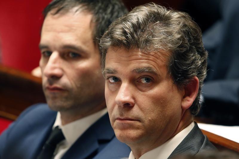 Offensive de Montebourg et Hamon contre le cap économique