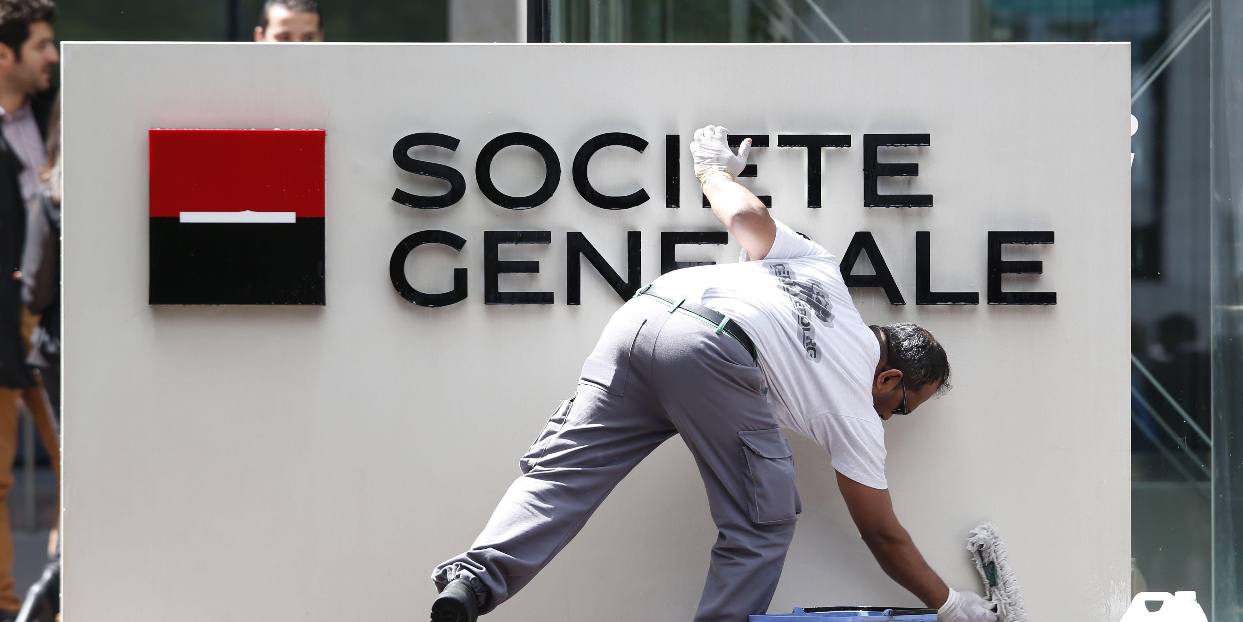 entreprises finance banques banque l amf inflige une amende de  millions d euros a societe generale