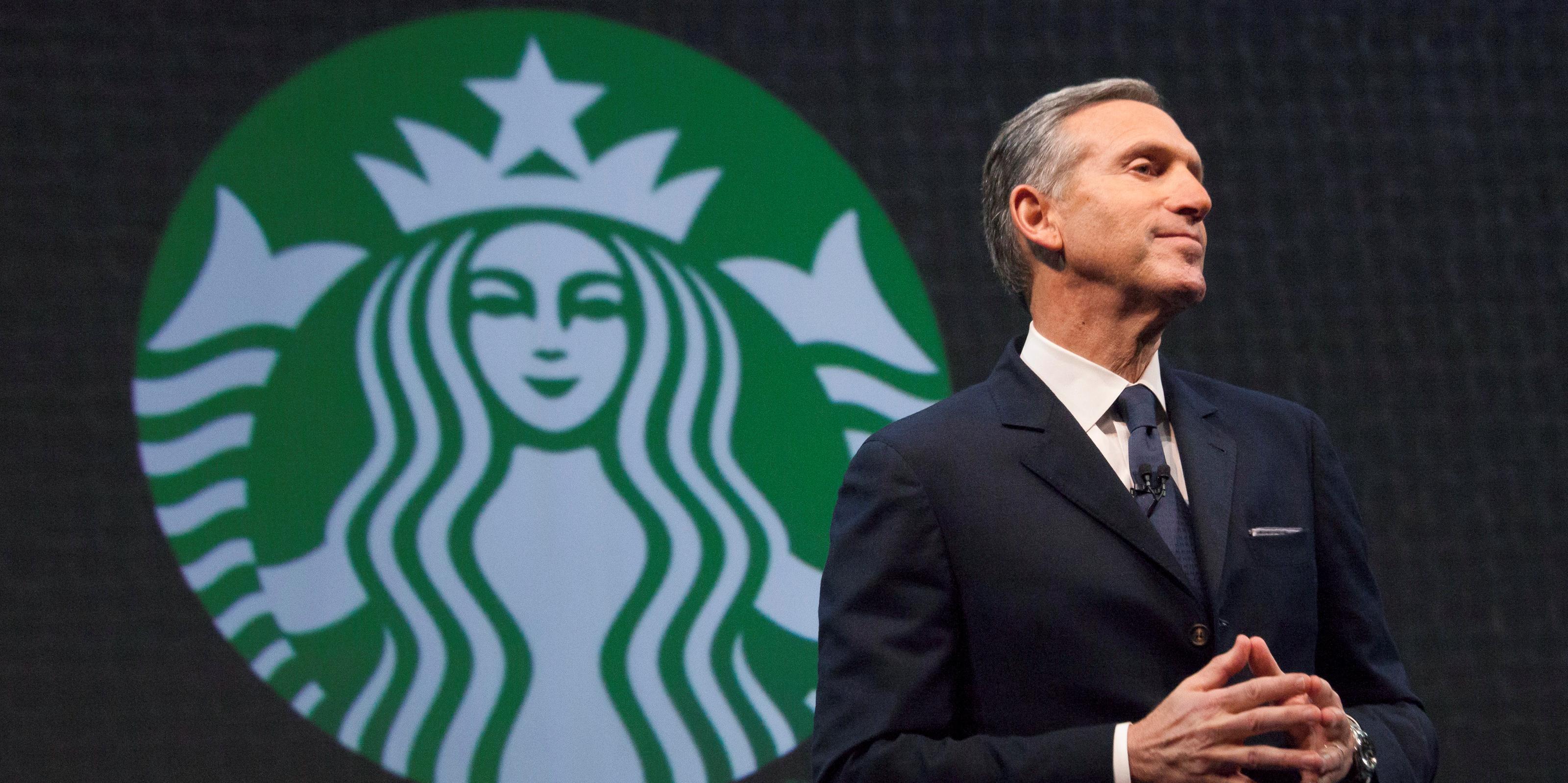 Démission surprise du PDG de Starbucks