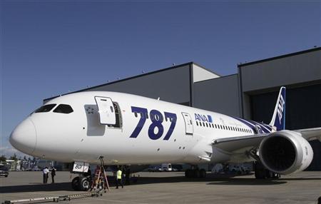 LE 787 DREAMLINER DE BOEING HOMOLOGUÉ