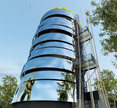 Stockage énergie thermique, Brest, Argouach Architectes Associés, Université de Bretagne Ouest (UBO), transition énergétique, logements, habitat durable, économies d'énergies,