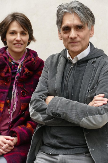 Elsa Casalegno et Karl Laske