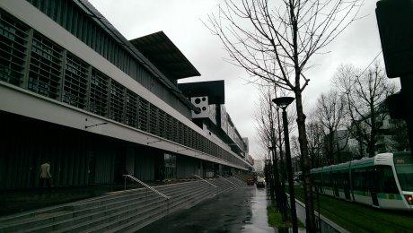 L'incubateur de startups le Cargo un jour de pluie en mars 2016