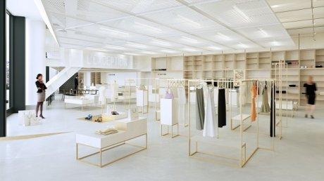 Forum des halles sous la canop e r nov e la question de l ouverture dominic - Les halles paris magasins ...