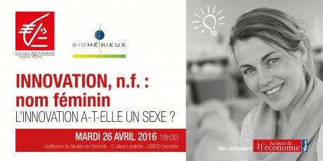 "Conférence ""Innovation, n.f : nom féminin"""