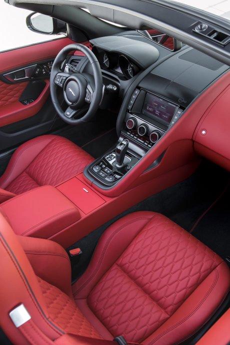 jaguar f type svr une voiture sportive tr 232 s aboutie