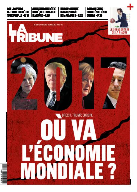 Couverture La Tribune Hebdomadaire 11/01/2017