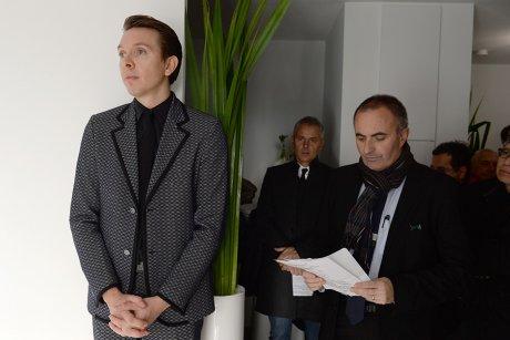 Hervé Legros et Michel Le Faou