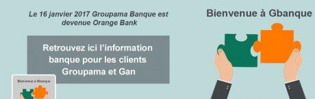 Orange Bank Groupama Gbanque