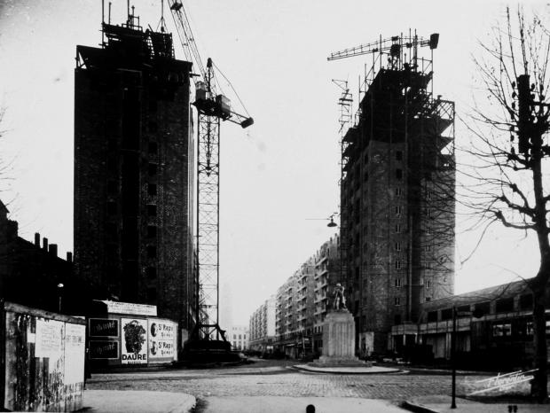 Les gratte ciel de villeurbanne f tent leurs 80 ans - Construction gratte ciel ...