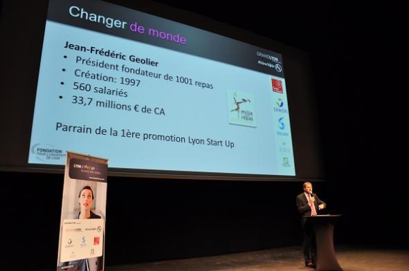 Lyon startup Jean-Yves Geolier