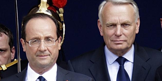François Hollande et son Premier ministre Jean-Marc Ayrault - Copyright AFP