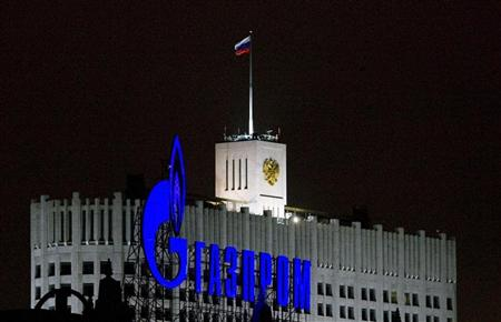 Gazprom. Copyright Reuters