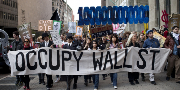 Le mouvement Occupy Wall Street a démarré à New York en septembre 2011 (Photo Reuters)