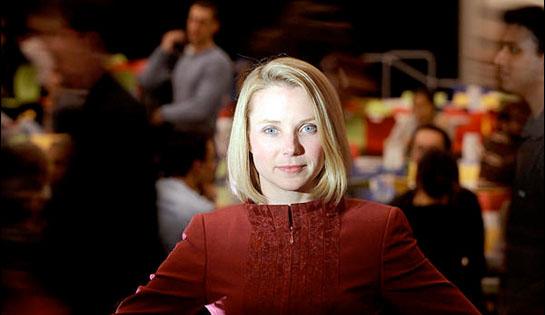 Marissa Mayer, la directrice générale de Yahoo, serait en discussions avec Facebook. Copyright Reuters