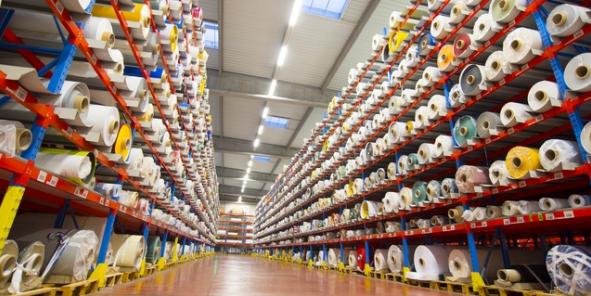 Atelier de l'usine Serge Ferrari à la Tour du Pin © DR