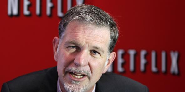 """""""En France, la TVA sur Netflix tombera dans les caisses du gouvernement français! Et nos impôts, nous les paierons conformément au droit néerlandais"""", selon Reed Hastings, patron de l'entreprise américaine."""