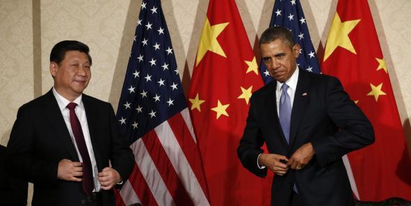 A gauche, Xi Jinping, à droite, Barack Obama. Les présidents chinois et américains occupent les deux premières places du classement mondial en termes de PIB.
