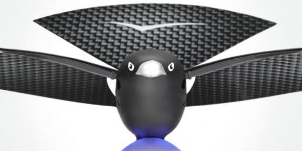 """Sous ses airs de tueur, le drone furtif civil Bionic Bird a tout du futur """"meilleur outil"""" des ornithologues et ... des militaires"""