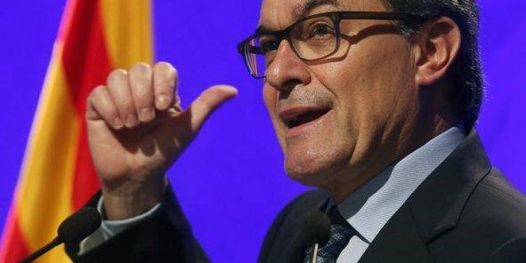 Artur Mas, président du gouvernement catalan, a annoncé des élections régionales pour le 27 septembre