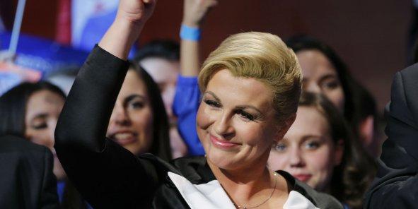 """""""Je vous promets que la Croatie sera un pays prospère et riche, un des pays les plus développés de l'Union européenne et du monde"""", a promis dimanche Kolinda Grabar Kitarovic."""