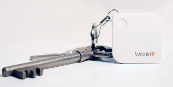 8 g, 5 mn d'épaisseur : Wistiki, qui, associé à nos objets usuels, les transforme en objets connectés, est fabriqué à Mouguerre (64)