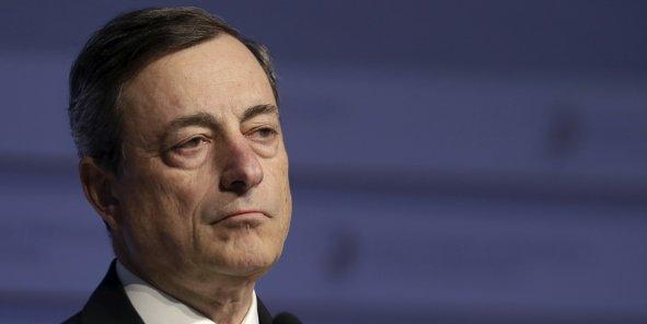 Un soulagement pour mario Draghi