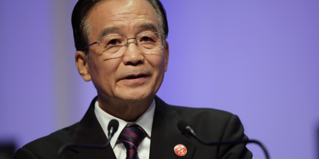 Wen Jiabao, premier ministre chinois/Copyright Reuters