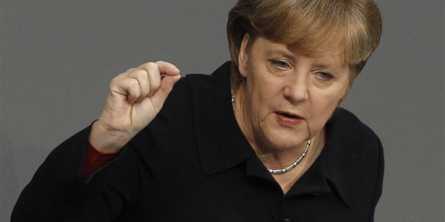 Angela Merkel / Photo Reuters