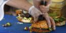 Burger, food truck Le Refectoire, France,