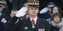 Le patron de la gendarmerie, le général Denis Favier, le 16 février 2015 aux Invalides à Paris