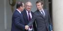 Macron, Sapin, Hollande,