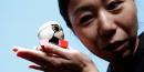 Le robot du Japonais Toyota, Kirobo Mini.