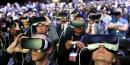 Réalité virtuelle, casque, masque, 3D, immersion, Virtual Reality, VR, Samsung Gear,