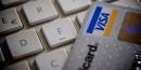 Carte de crédit, clavier, e-commerce,