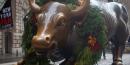 Bull market Wall Street NY