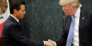 Trump est une menace pour le mexique, estime pena nieto