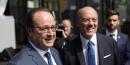François Hollande et Stéphane Richard