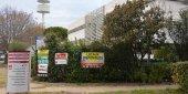 Un espace de bureaux à la vente dans le parc scientifique Georges-Besse dans le sud de Nîmes