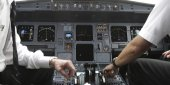 A320 cockpit cf crash de l'avion de Germanwings
