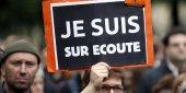 Manifestation contre le projet de loi sur le renseignement