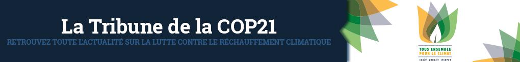 Bandeau La Tribune de la COP21