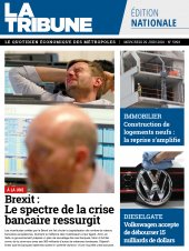 Edition Quotidienne du 29-06-2016
