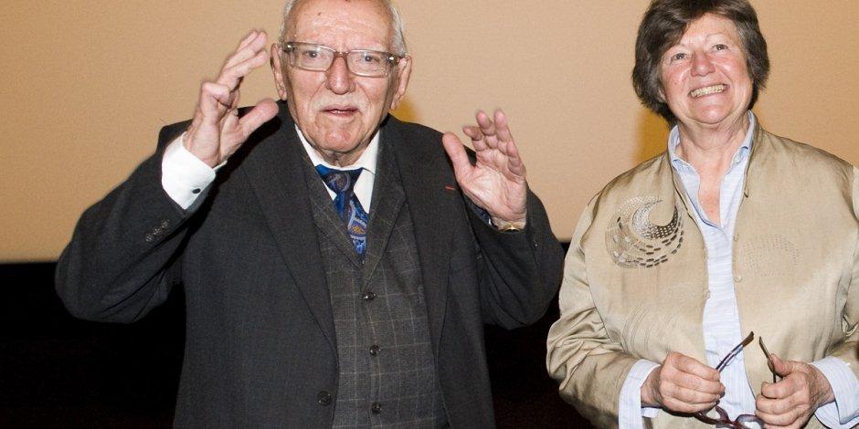 Jacques Truphémus avec Florence Bonnier, auteur du documentaire