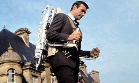 James Bond et son jetpack