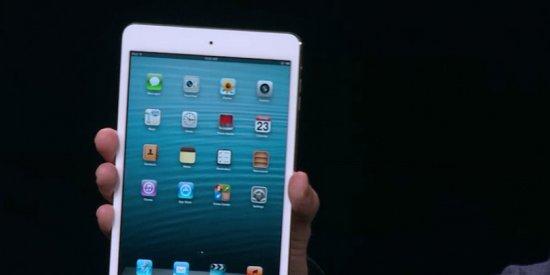 Apple part à l'assaut du marché grand public avec l'iPad mini