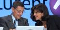 Pat Russo et Serge Tchuruk - Alcatel Lucent