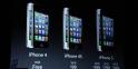 Les tarifs des iPhone 5, 4S et 4